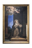 Saint Mary Magdalene Penitent Giclee Print by  Guercino (Giovanni Francesco Barbieri)