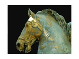 Detail from the Equestrian Statue of Marcus Aurelius Giclee Print