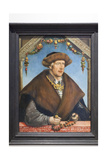 Portrait of Christoph Van Laiming, 1517 Giclee Print by Hans Wertinger