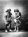 Samurai, C.1860-80 Photographic Print by Felice Beato