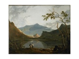 Snowdon from Llyn Nantlle, C.1765-66 Giclee Print by Richard Wilson