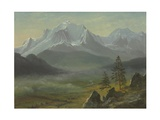 Mont Blanc Giclee Print by Albert Bierstadt