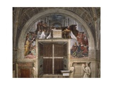 The Mass at Bolsena, Stanza Di Eliodoro, 1512-14 Reproduction procédé giclée par  Raphael