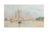 The Regatta at Kiel Giclee Print by William Lionel Wyllie