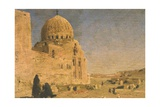 Mosque in an Arab City Giclee Print by Cesare Biseo