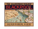 Blackpool Giclee Print by Tony Sarg