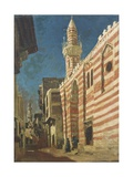 Street in an Arab City Giclee Print by Cesare Biseo
