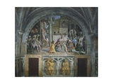 The Fire in the Borgo, Stanza Dell'Incendio Del Borgo, 1514 Giclee Print by  Raphael
