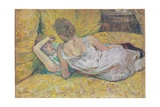 Abandonment (The Two Friends), 1895 Giclee Print by Henri de Toulouse-Lautrec