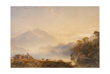 Ben Venue and the Trossachs Seen from Loch Achray, 1845 Giclee Print by Anthony Vandyke Copley Fielding