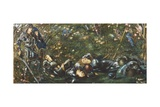The Prince Enters the Briar Wood, Illustration from 'The Legend of Briar Rose' 1871-72 Giclee Print by Sir Edward Coley Burne-Jones