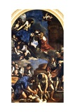 The Death of Saint Petronilla, 1621-22 Giclee Print by  Guercino (Giovanni Francesco Barbieri)
