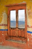 View Through the Monastery Window, Likir Monastery, Ladakh, India Photographic Print