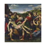 The Deposition, 1507 Reproduction procédé giclée par  Raphael