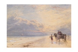 Seaweed Gatherers, C.1870 Giclee Print by Myles Birket Foster
