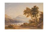 Ben Vorlich and Loch Lomond, 1836 Giclee Print by Anthony Vandyke Copley Fielding