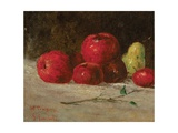 Still Life, Apples and Pears, 1871 Lámina giclée por Gustave Courbet