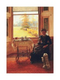 For a Good Boy, 1880 Giclee Print by Mary Hayllar