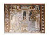 Baptism of Constantine Which Heals His Leprosy Giclee Print