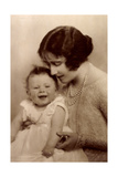 Ak H.R.H. the Duchess of York, the Little Princess Elizabeth Photographic Print