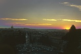 Sunset over Rome Photographic Print