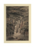 Cascade at Sir Michael Fleming's, 1780 Giclee Print by Coplestone Warre Bampfylde