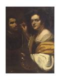 Self Portrait Giclée-tryk af Artemisia Gentileschi