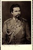 Ak König Ludwig II. Von Bayern Mit Orden Und Abzeichen Photographic Print