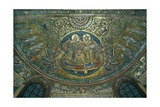 Coronation of the Virgin, Apse of the Basilica Di S.Maria Maggiore, Rome, 1287-92 Giclee Print by Jacopo Torriti