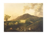 View of the Villa Medici, Ottaviano Giclee Print by Pierre Jacques Volaire