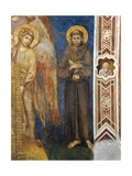 St Francis of Assisi Giclée-tryk af Giovanni Cimabue