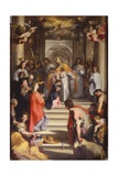 Presentation in the Temple, 1593-94 Giclee Print by Federico Fiori Barocci or Baroccio