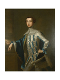 Portrait of Sir James Lowther, First Earl Lonsdale, C.1755 Giclee Print by Thomas Hudson