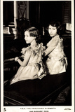 Ak T.R.H. the Princesses Elizabeth and Margaret Rose, Piano Photographic Print