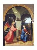 Annunciation, 1818 Giclee Print by Julius Schnorr von Carolsfeld