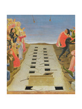 The Last Judgement, Altarpiece from Santa Maria Degli Angioli, Detail, C.1431 Giclee Print by  Fra Angelico