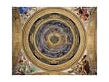 Glory of Paradise, 1627 Giclée-tryk af Giovanni Lanfranco