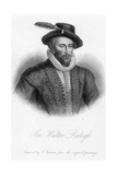 Sir Walter Raleigh, Print Made by S. Freeman Giclee Print by Marcus, The Younger Gheeraerts