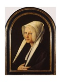 Portrait of Agatha Van Schoonhoven, 1529 Giclee Print by Jan van Scorel