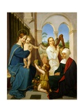 Holy Family, 1809-11 Giclee Print by Peter Von Cornelius