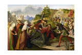The Way of the Cross, 1817 Giclee Print by Wilhelm Schadow