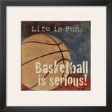 Basketball Art by Jo Moulton