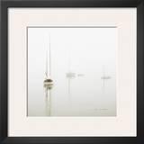 Harbor Fog Print by Jon Olsen