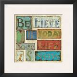 Believe and Hope I Posters by Daphne Brissonnet