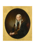 Portrait of Mary Wordsworth, 1839 Giclee Print by Margaret Gillies