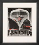 Art Deco Panhard Poster Posters