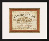 French Wine Labels II Print by Daphne Brissonnet