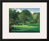 The 11th At Augusta Poster by Larry Dyke