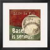 Baseball Prints by Jo Moulton