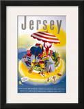 Jersey, BR, c.1948-1965 Prints by E. Lander